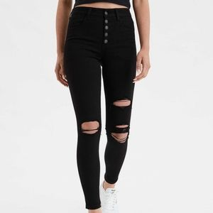 AEO Super High Rise Jegging size 24